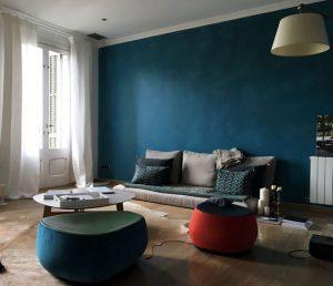 si durante la primer parte del el azul fue color de moda ahora es momento de apostar por el color traful una tonalidad que nos recuerda al cielo